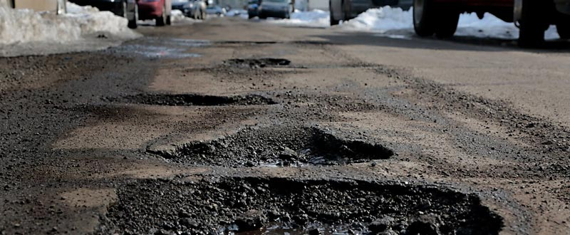 Can Potholes Damage My Car?
